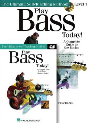 Hal Leonard Play Bass Today Beginners Package