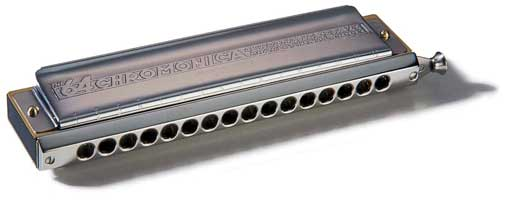 Hohner The 64 Chromonica Chromatic Harmonica