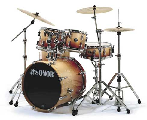 Sonor Force 2007 Stage 1 5 Piece Shell Kit Drum Set