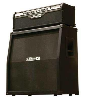 review line 6 spider iii half stack guitar amplifier. Black Bedroom Furniture Sets. Home Design Ideas