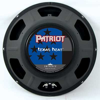 Eminence Patriot Texas Heat Guitar Speaker