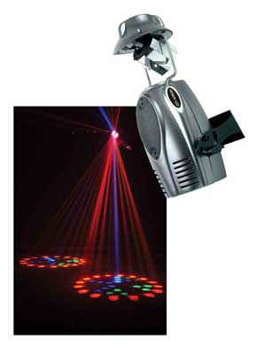 American DJ Rover LED Scanning Barrel Moonflower Stage Light