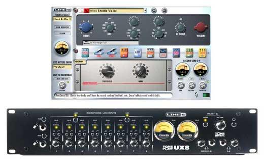 line 6 toneport ux8 usb audio interface. Black Bedroom Furniture Sets. Home Design Ideas