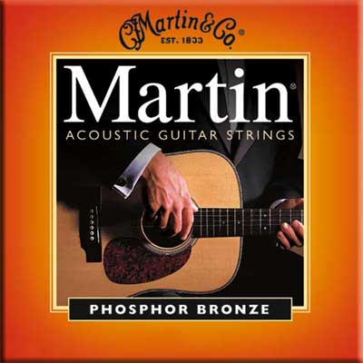 Martin M545 92/8 Phosphor Bronze Acoustic Guitar Strings