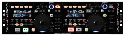 Denon DNHC4500 Pro Media Player and Controller