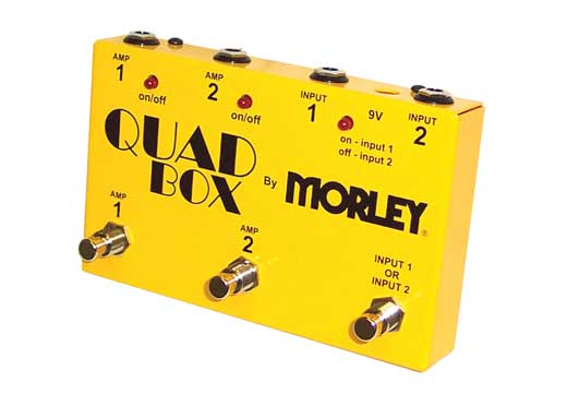 Morley QB 2 In 2 Out Switch Box