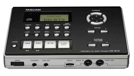 Tascam CDBT2 Bass Guitar Trainer