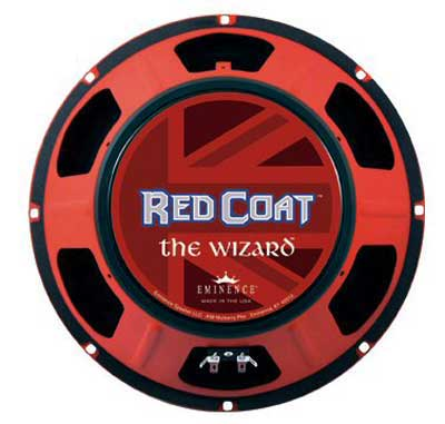 Eminence Red Coat Wizard 8 12 Inch Guitar Speaker 75 Watts