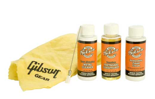 Gibson Vintage Guitar Care Restoration Kit