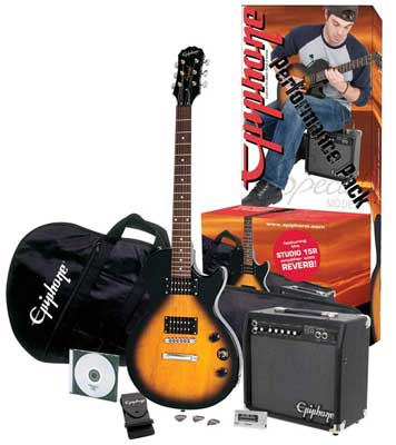 Epiphone Les Paul Special II Performance Package