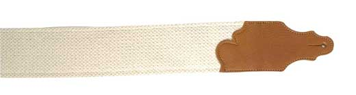 Franklin FSCL-N-CA Cinch Cotton Guitar Strap 3 Inch