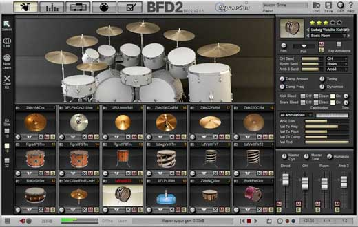 FXPansion BFD2 Drum Instrument Software
