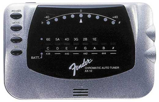 Fender AX12 Chromatic Tuner
