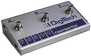 DigiTech FS300 3 Button Footswitch