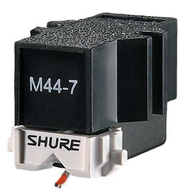 Shure M44-7 DJ Turntable Cartridge