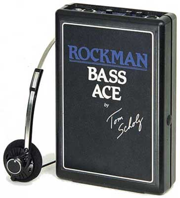 Dunlop Rockman by Tom Scholz Bass Ace Headphone Amplifier