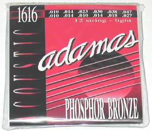 Adamas 1616 12 String Phosphor Bronze Acoustic Strings
