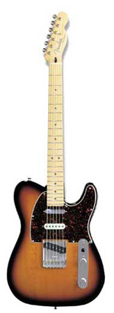 Fender Deluxe Nashville Tele Maple Fingerboard with Gig Bag