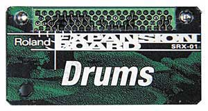 Roland SRX01 Dynamic Drums Expansion Board