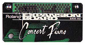 Roland SRX02 Concert Piano Expansion Board