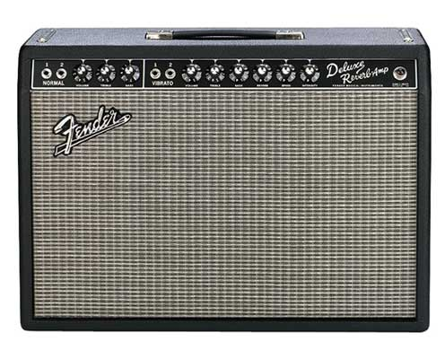 Fender 65 Deluxe Reverb 22 Watt 1x12 Guitar Combo Amplifier