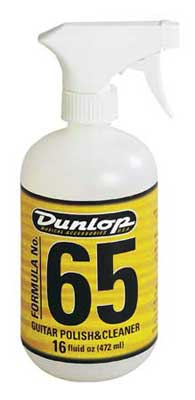 Dunlop 6516 Formula 65 Guitar Polish and Cleaner
