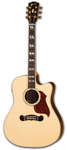 Gibson Songwriter Deluxe Studio EC Acoustic Electric with Case