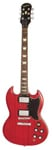 Epiphone Faded G400 SG Electric Guitar Worn Cherry