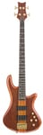 Schecter Stiletto Studio 4 Electric Bass Guitar Honey Satin