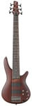 Ibanez SR506 6 String Electric Bass Guitar Brown Mahogany