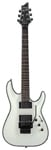Schecter C1 FR Hellraiser Electric Guitar White