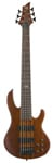 ESP LTD D6 6 String Electric Bass Guitar Natural Satin