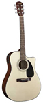 Fender CD60CE Cutaway Acoustic Electric Guitar with Case