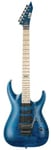 ESP LTD Standard MH103QM Electric Guitar See Thru Blue