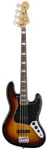 Fender 70s Jazz Bass Guitar 3 Color Sunburst with Gig Bag