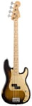 Fender Road Worn 50s Precision Electric Bass 2 Color Burst wGig Bag