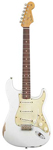 Fender Road Worn 60s Stratocaster Olympic White with Gig Bag