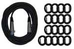 CBI MLC LowZ Microphone Cable 20 Foot 18 Pack