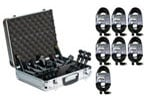 Audix DP7 Seven Microphone Drum Package With Case Cables And Clamps