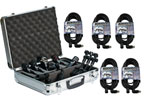 Audix DP5A Five Microphone Drum Package With Cables Case And Clamps