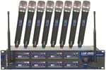 VocoPro UHF8800 8 Channel UHF Wireless Microphone System