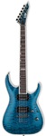 ESP LTD Deluxe MH1000NT Electric Guitar See Thru Blue