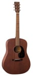 Martin Dread 15 Series Mahogany Burst w/Case