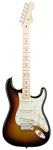 Fender American Deluxe Stratocaster 3 Color Sunburst with Case