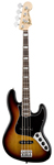 Fender American Deluxe Jazz Electric Bass Guitar with Case