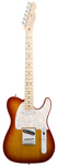 Fender American Deluxe Telecaster Maple Aged Cherrry Burst with Case