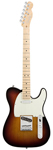 Fender American Deluxe Telecaster 3 Color Sunburst with Case