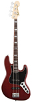 Fender American Deluxe Jazz Electric Bass Rosewood with Case