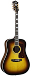 Guild D55 Traditional Dreadnought Acoustic Guitar Anitque Burst