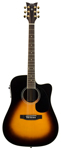 Schecter Royal Acoustic Electric Guitar with Case